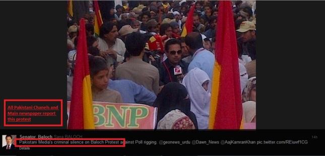BNP Protest