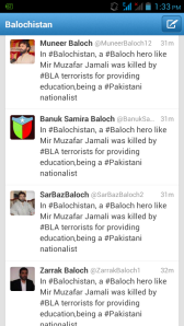 BLA Cyber Team Appreciat Pakistan and did Pro-Pakistani Tweets (1)