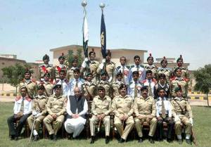 Chief of Army Staff Gen Ashfaq Parvez Kayani in Sui Miltary College In 2013 With CM Balochistan Dr Malik