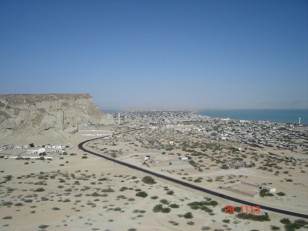 gwadar port China assures early ground breaking of new gwadar airport ''tentatively 2nd week of march 2017'' on the request of pakistan, china has assured to soon start work on new gwadar international airport as well as east bay expressway.
