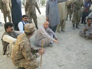 CM #Balochistan and mil Commande consult earthquake affectees on progress of ongoing relief rehab work