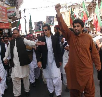 Imran Khan in Quetta